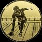 Emblem 50mm Kegler M2, gold