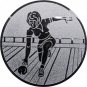 Emblem 50mm Keglerin, silber
