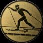 Emblem 50mm Skiroller, gold