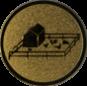 Emblem 50mm Tiergehege, gold