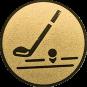 Emblem 50mm Golfschläger, gold