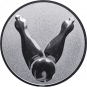 Emblem 50mm Kegel 2, silber