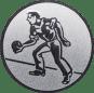 Emblem 50mm Kegler M1, silber