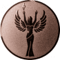 Emblem 25 mm Siegesgöttin, bronze