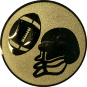 Emblem 25mm Football, gold