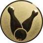 Emblem 25mm Kegel 1, gold
