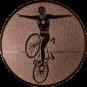 Emblem 25mm Kunstrad, bronze