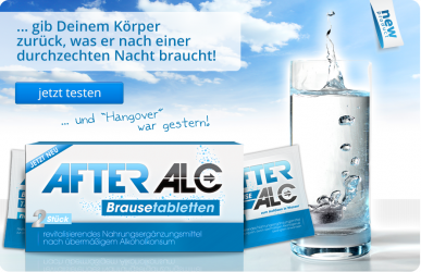 AfterAlc - Brausetabletten