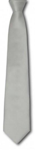 Krawatte in silber - grau