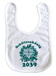 """Babylätzchen """"Schützenkönig 2039"""""""