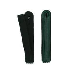 2-streifige Schulterstücke in grün