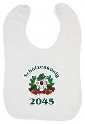 """Babylätzchen """"Schützenkönig 2045"""""""