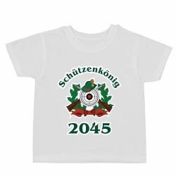 """Kindershirt """"Schützenkönig 2045"""""""