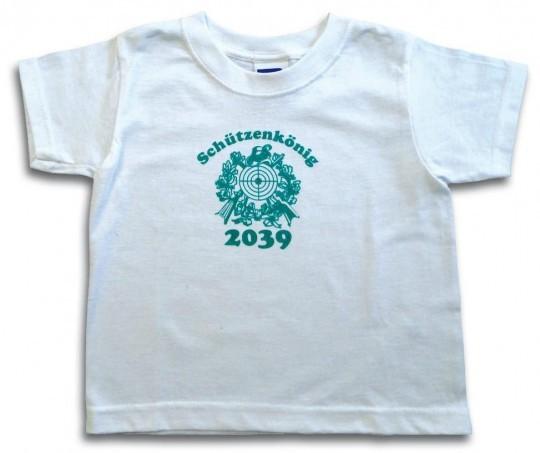 """Kindershirt """"Schützenkönig 2039"""""""
