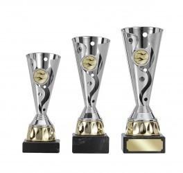 Pokale 3er Serie S402 silber/gold