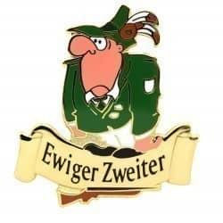 """""""Ewiger Zweiter"""" Trauriger Schütze"""