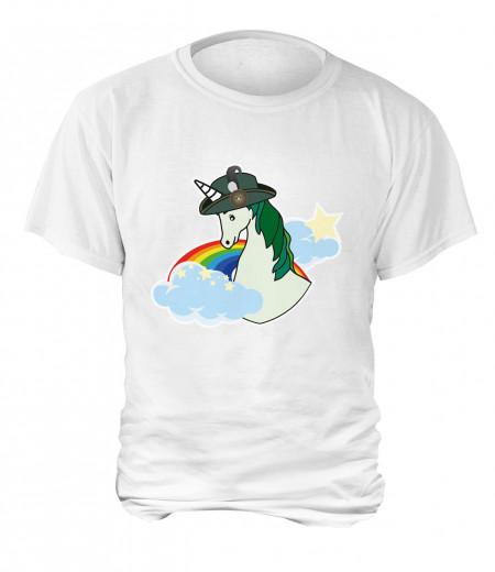 "T-Shirt ""Einhorn"" - Herren"