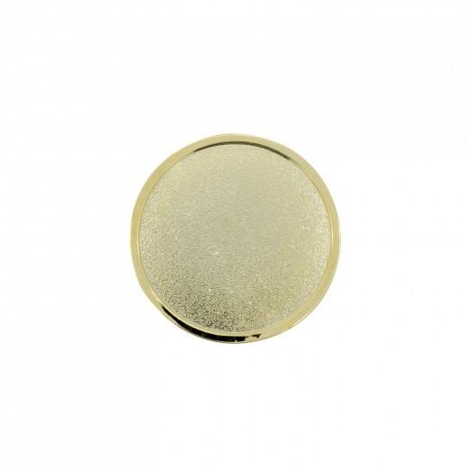 Expresspin rund 32 mm - selbst gestalten gold