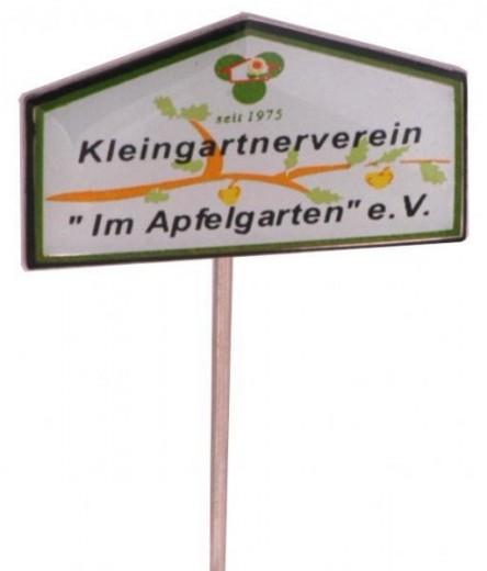 """Anstecknadeln Offsetdruck """"Kleingartenverein"""""""