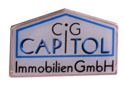 "Pins Offsetdruck ""CAPITOL"""