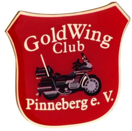 "Pins Offsetdruck ""Gold Wing Club"""