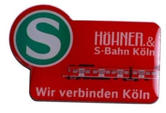 "Pins Offsetdruck ""Höhner"""