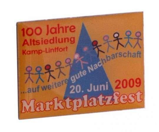 """Pins Offsetdruck """"Marktplatzfest"""""""