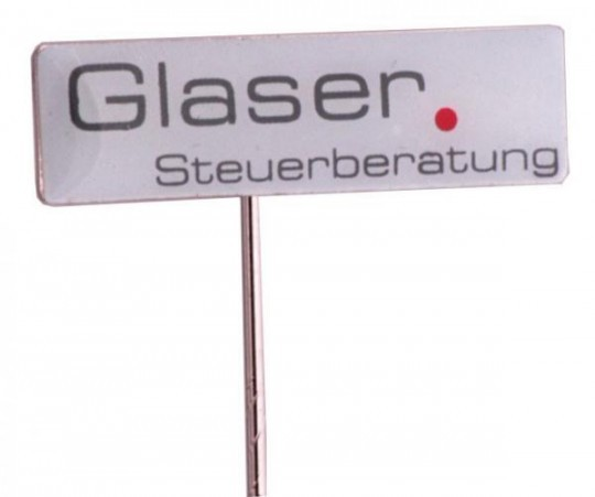 "Pins Siebdruck ""Glaser"""
