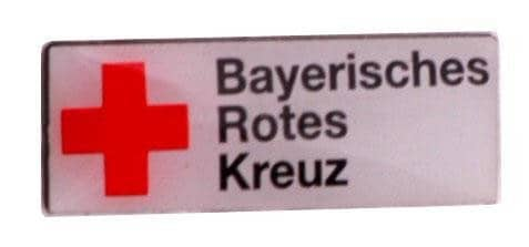 """Pins Siebdruck """"Rotes Kreuz"""""""