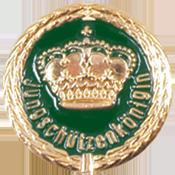 Anstecknadel Krone + Jungschützenkönigin