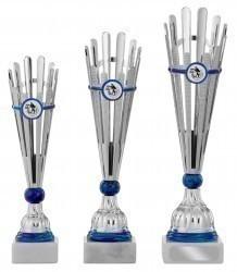 Pokale 3er Serie S451 silber/blau