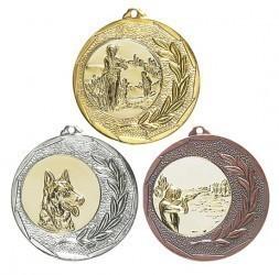 """Medaille """"Singos"""" Ø 40mm mit Wunschemblem und Band"""