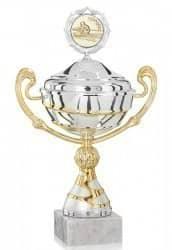 Pokale mit Henkel 4er Serie FS281-WS mit Deckel