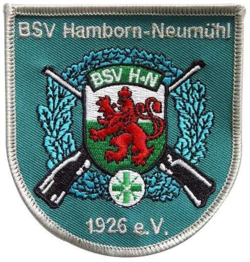 """Stickabzeichen - Aufnäher individuell """"Schützenverein"""""""