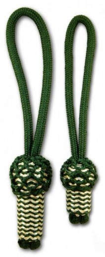 Eichel grün/silber