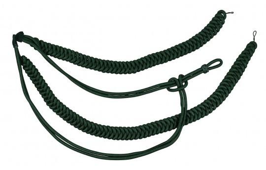 Fangschnur grün 2 Breitgeflechte und 2 Schlingen