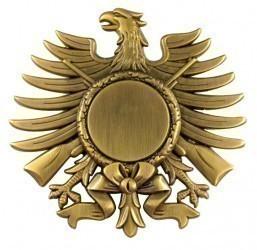 Ehrenadler altgold mit Etui