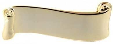 Broschennadel mit Gravurfläche