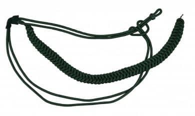 Fangschnur grün 1 Breitgeflecht und 2 Schlingen