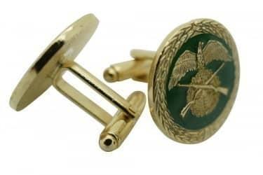 Manschettenknöpfe mit Schützenmotiv