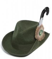 Schützenhut dunkelgrün meliert