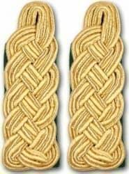 Schultergeflechte - Majorsgeflechte gold