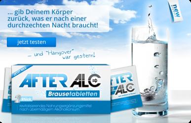 AfterAlc - Brausetabletten