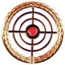 Anstecknadel Zielscheibe