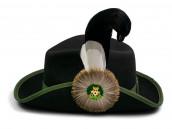 Schützenhut schwarz