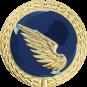 Auflage linker Flügel blau