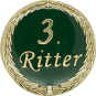 Auflage mit 3. Ritterschriftzug grün