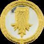 Auflage Rumpf silber/gold