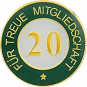 Auflage treue Mitgliedschaft 20