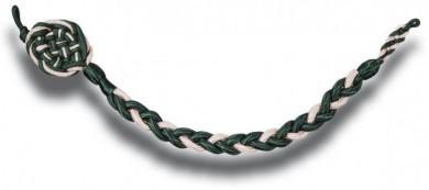 Schützenschnur silber/grün